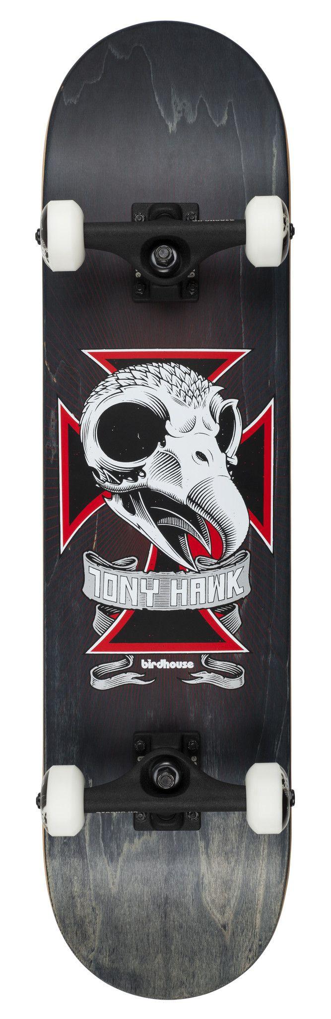 "Birdhouse Premium Quality Tony Hawk Complete Skateboard Skull 2 7.75"" #Skateboarding #TonyHawk"