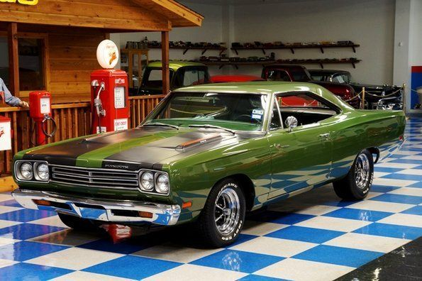 Ivory Green 1969 Plymouth Road Runner this was the color of my 69 roadrunner bought off the lot for just over 4000.00, boy she was a mover. Mary Lackey