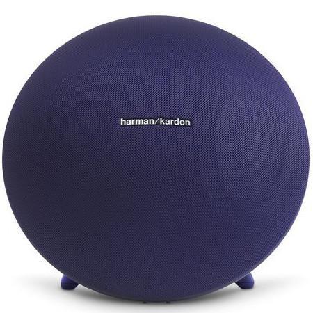 Harman Kardon Onyx Studio 3 Wireless Bluetooth Speaker Blue - Front View