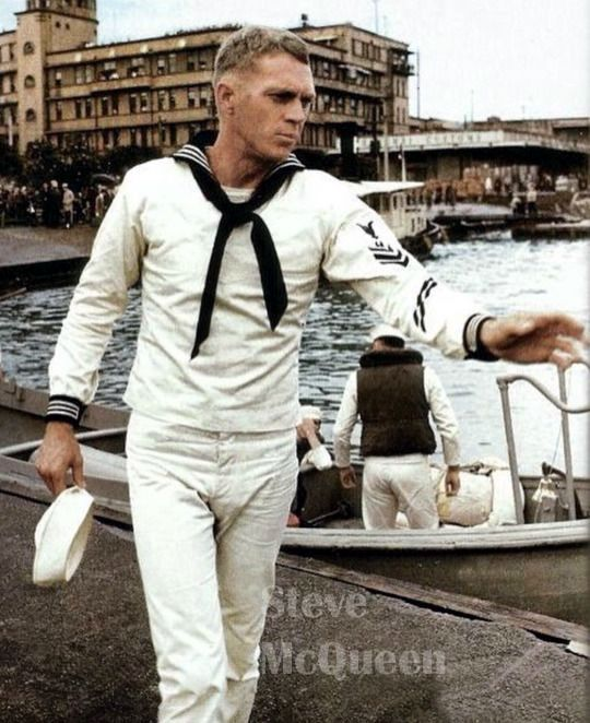 with widows steve mcqueen fashions his version of the - 468×692