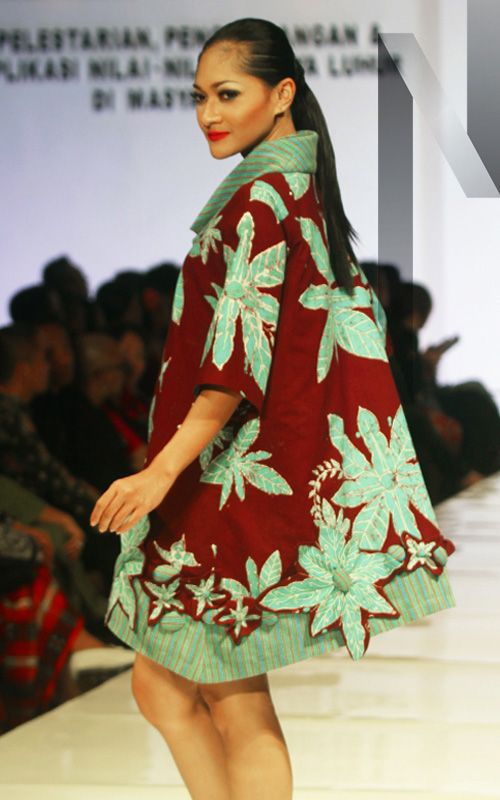 Gedangsari #02 | N-Style in Yogyakarta #Fashion Forecasting 2015 with #Batik created by junior high school students from the region Gedangsari, #Gunungkidul, #Yogyakarta