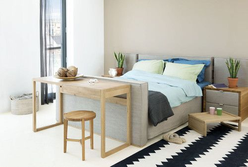 Coco-mat produces mattresses layered with an interesting array of natural materials including coco fiber, natural rubber, seaweed, and Oeko-Tex certified organic cotton and wool.