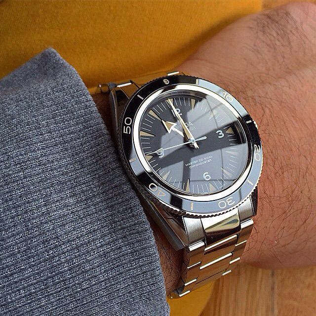 Rapidly becoming a favourite of mine. #omega Seamaster 300. #watches