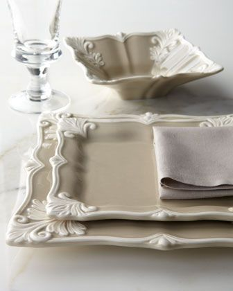 12-Piece+Square+Baroque+Dinnerware+Service++at+Horchow.