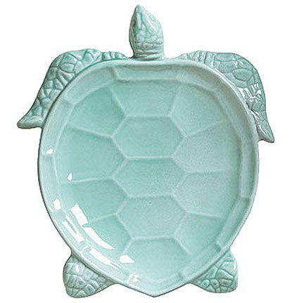 Incanto Mare Turtles Dinnerware by Vietri   Gracious Style