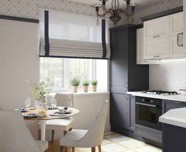 Создать удобный и стильный интерьер можно и без перепланировки. Дизайнеры выбрали насыщенную синюю цветовую палитру, использовали советскую мебель и добавили современных элементов – угодили всем