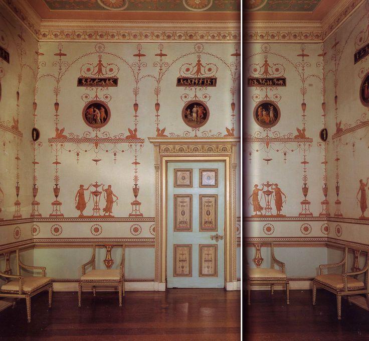 Robert Adam Habitacin Etrusca Ha 1790 Osterley Park Londres Reino Albert MuseumGeorgian EraKing
