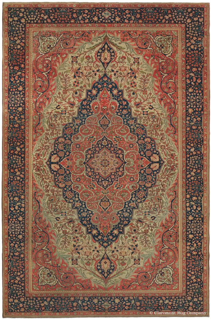 Motasham Kashan Central Persian 7ft 10in X 12ft 0in