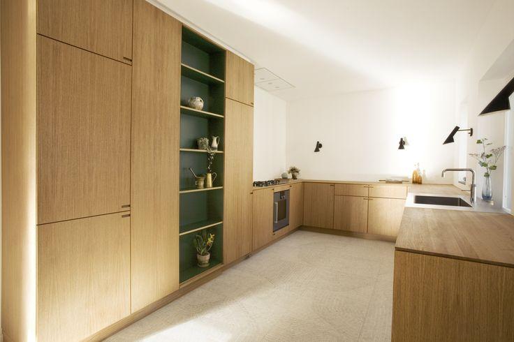 Our new bespoke-kitchen Tuborgvej - designed and produced by Nicolaj Bo™