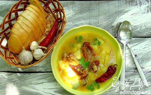 Пряный гороховый суп | Кулинарные рецепты от «Едим дома!»