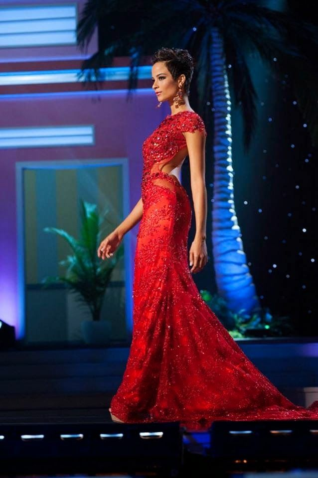 Defying Pageant Hair Politics:  Caribbean Beauties Carolyn Desert and Kaci Fennell Miss Jamaica 2014