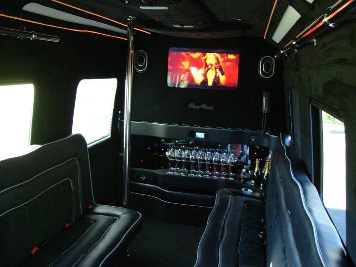 Mercedes Benz Limo Cruiser Interior