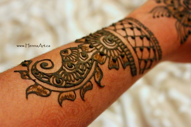 A DIY description of this design. This lays out how to do your own henna design.