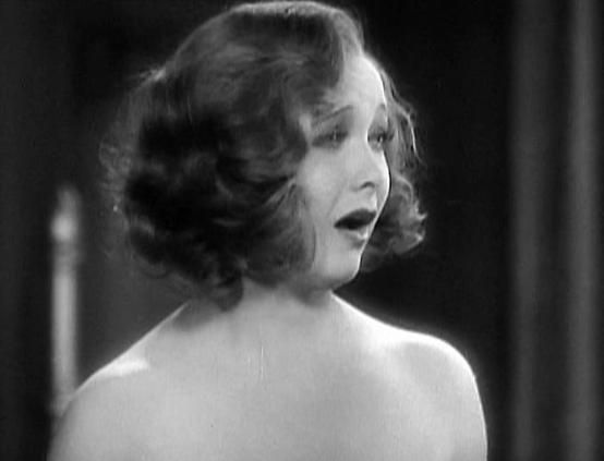 Helen Twelvetrees in screen capture from MILLIE (1931).