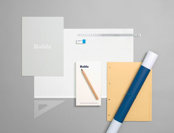 BALTIC - Corporate ID #Branding #Furniture #Identity #Logo #Stationery