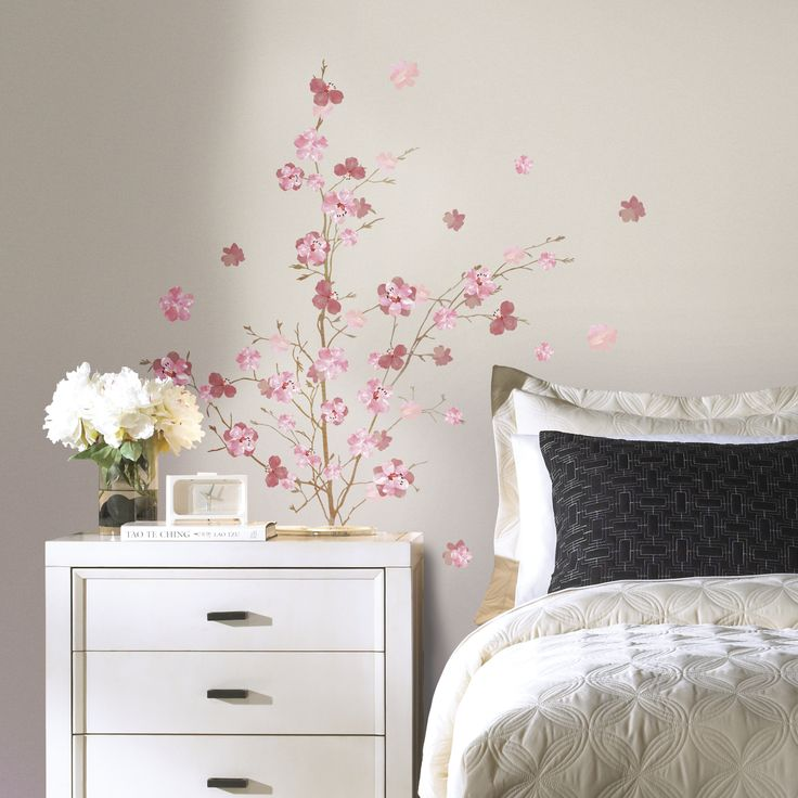 RoomMates Decor Blossom Branch Giant Peel and Stick Wall Decals