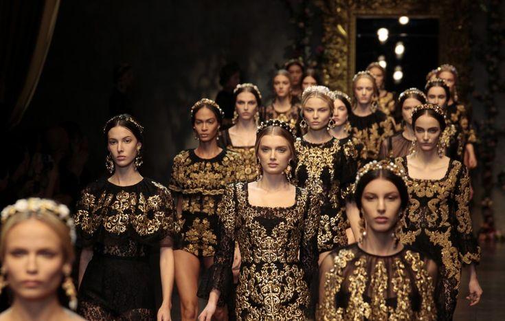 Baroque Romanticism - Dolce & Gabbana, 2012