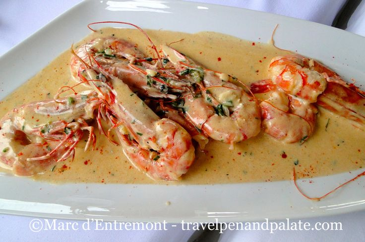 Greek chef Giorgos Kosmidis Halkidiki shrimp - National Food & Recipes | Examiner.com