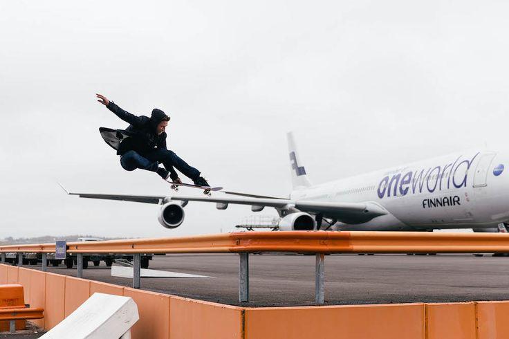 Arto Saari Turns Helsinki Airport into a Skate Park • Highsnobiety