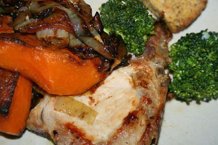 Godt og Sunt: Svinekotelett med Grønt