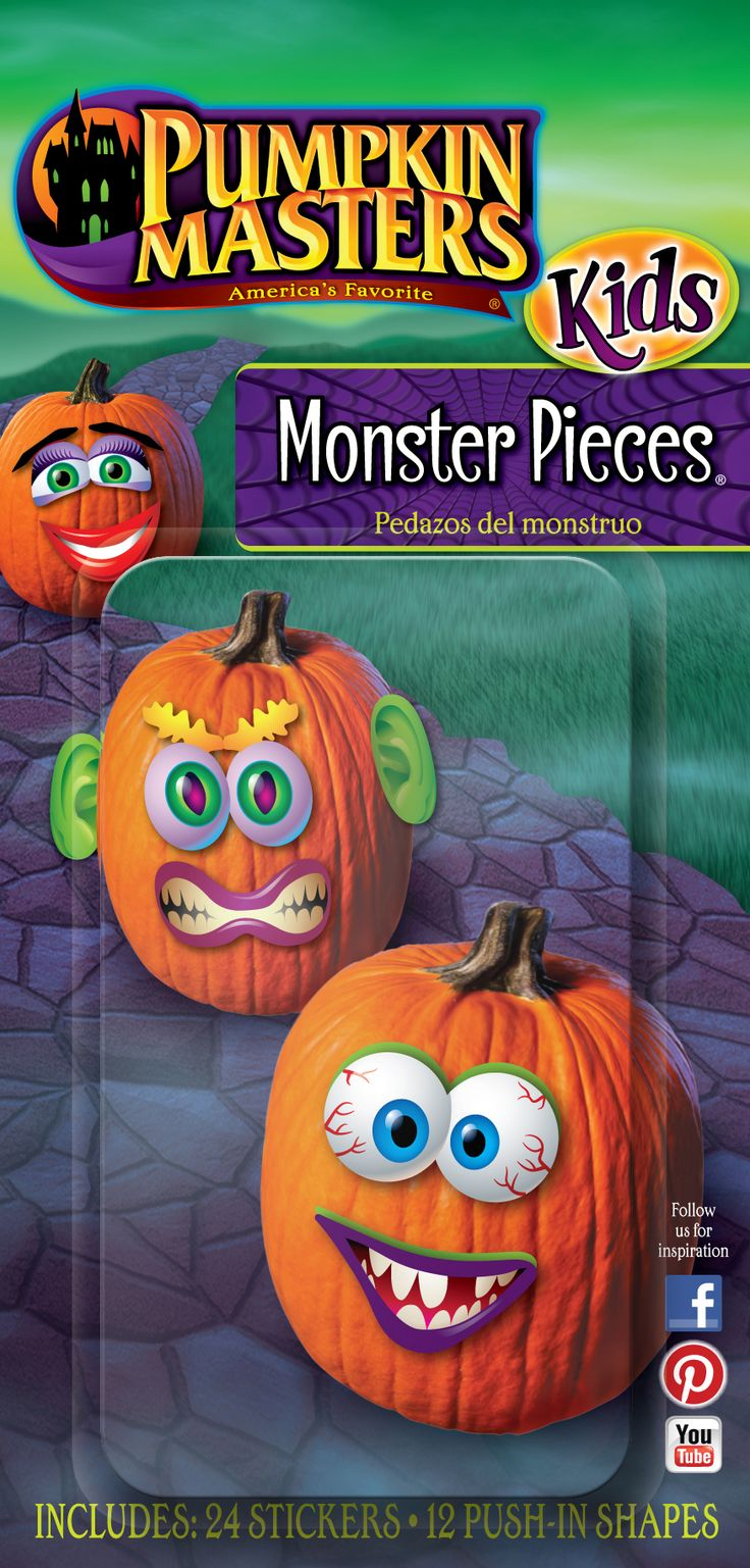 pumpkin carving tools for kids. marvelous monsters come to live without a single carving tool in pumpkin masters monster pieces kit tools for kids v