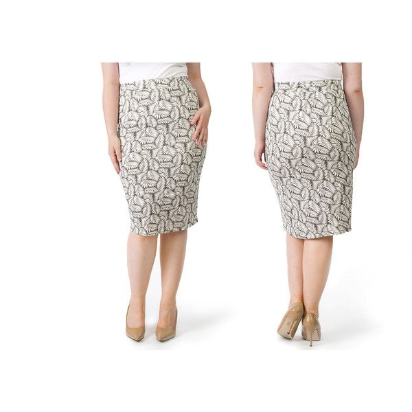 image Well like patterned skirt