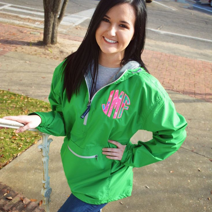 Need, want.. Such a fine line! But I'm here to tell you that you NEED our #LillyPulitzer Monogrammed Anorak Pullover in your life!💁🏻 Click the link in bio to #ShopTantrum for this and so much more!! #throwatantrum #monogram #charlesriverapparel