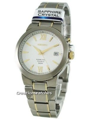 Seiko Kinetic Titanium SKA485P1 SKA485 SKA485P Men's Watch