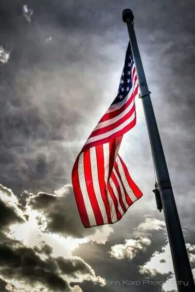 Our Beautiful Anerican Flag  Via  The Veterns Site