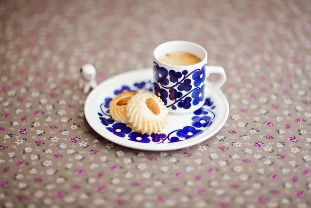 Arabia finland 'aamu' #breakfast #cookies #coffee