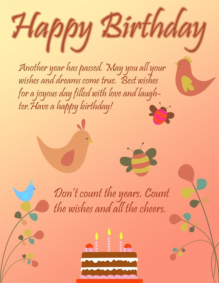 37 Best images about Happy Birthday Ecards – Send E Birthday Card