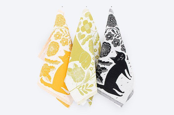 Koira Ja Kissa Kitchen Towel Lapuan Kankrit