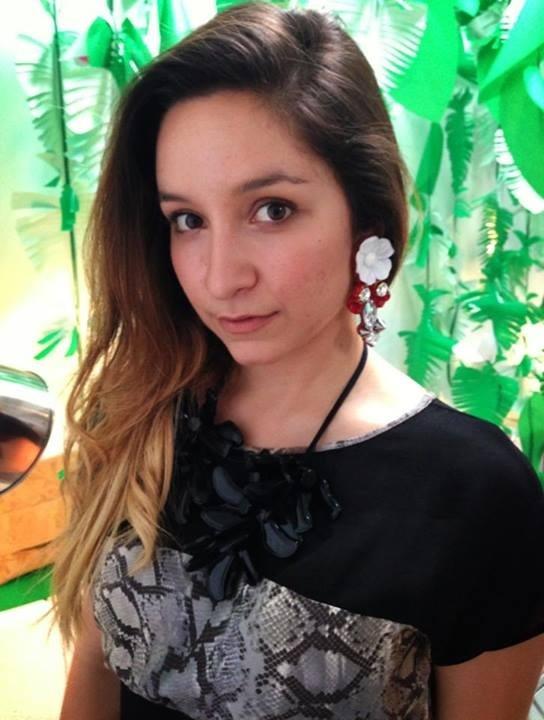 Amazing earrings ;-) by Mimika Ciboyianni