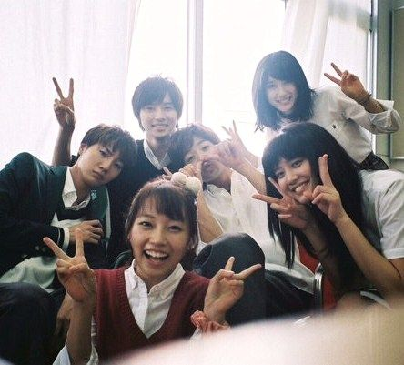\(^o^)/Huge hit!!! Viewer satisfaction 95.8%, Dec/15 [MV, orange ver, Dec/06/15] https://www.youtube.com/watch?v=nwhkIfS8b6E&feature=youtu.be Kobukuro -- Mirai (Future), orange theme song, Tao Tsuchiya, Kento Yamazaki, Ryo Ryusei, Dori Sakurada, Hirona Yamazaki, Kurumi Shimizu, Release: 12/12/'15