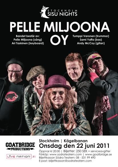 Stockholm Sisu Nights Pelle Miljoona Oy