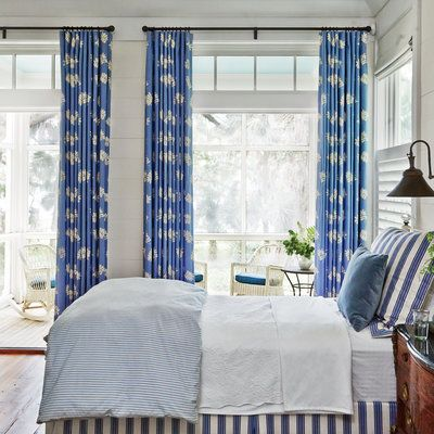 2. Invest in window treatments.