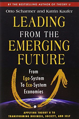 Leading from the Emerging Future: From Ego-System to Eco-System Economies (BK Currents) by Otto Scharmer http://www.amazon.com/dp/1605099260/ref=cm_sw_r_pi_dp_nb54ub1C085AX