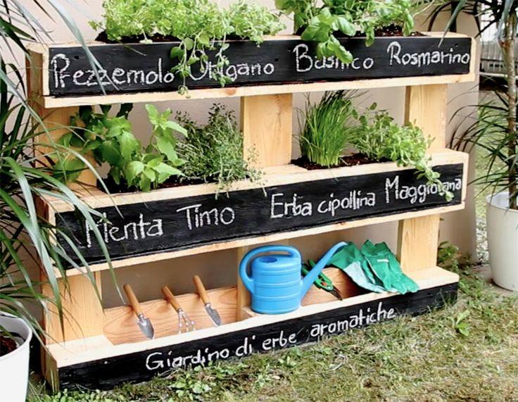 Come costruire facilmente una fioriera per la casa, il giardino o il terrazzo riciclando i pallet di legno.