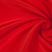 Oscar de la Renta Fiery Red Silk Faille