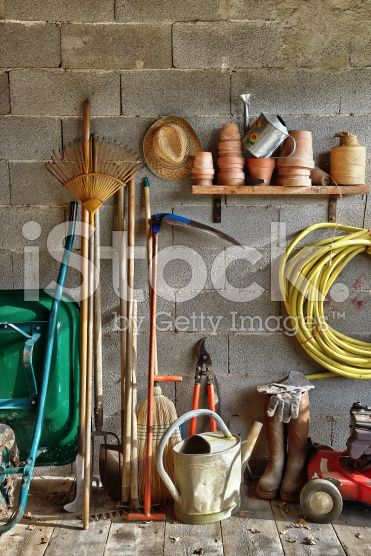shed garden five royalty-free stock photo
