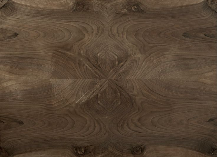 """walnut crotch detail. The Élite Prestige #wood #panel can be supplied in its """"centered"""" (symmetric) version or """"palladian"""" (irregular but classical """"incertum opus""""). This makes the #parquet a unique work of #art. #madeinitaly #interior #design #home #classical #walnut #burl"""
