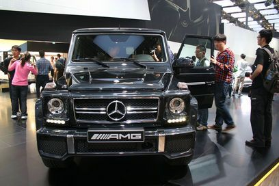 New G63 AMG is powered by twin turbocharged 5.5L V8 generating 544 bhp and 760 Nm torque whereas the G65 AMG is powered by a 6.0L V12 biturbo engine generating 612 bhp and 1000 Nm torque.    All new Mercedes Benz Concept Style Coupe also featured itself at the Beijing Auto Show earlier today. Mercedes CSC is powered by a 4 cylinder petrol engine generating 211 bhp. Transmission of power is done by trademark Mercedes 4MATIC all wheel drive system.