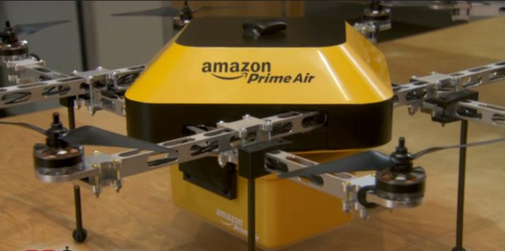 Commercial application of goods delivery drones is imminent. Canada Proves Fertile Ground For Amazon Drone Delivery Tests | TechCrunch