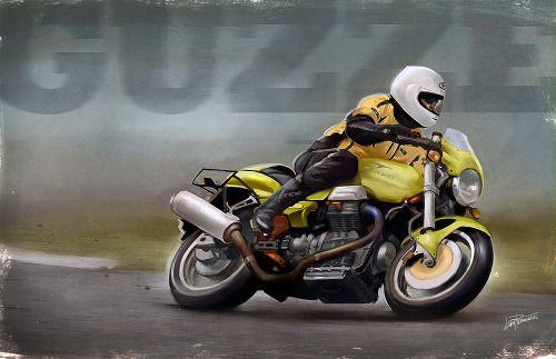 Moto Guzzi V11 Sport by Lars Samsoe.