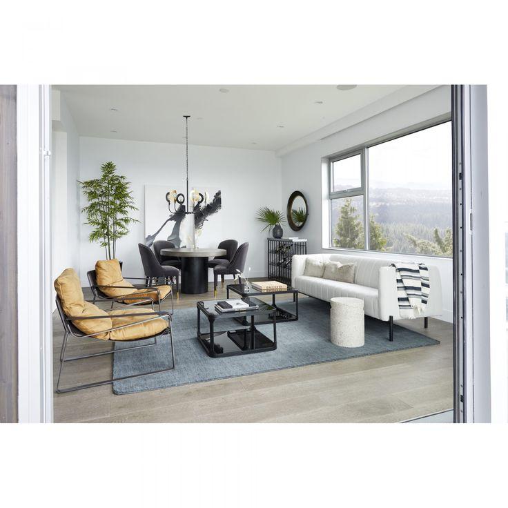Jaxon Sofa Light Grey   Solid area rugs, Living furniture ...