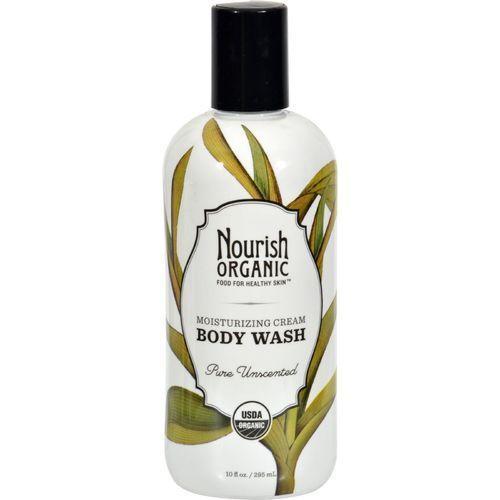 Nourish Organic Body Wash - Pure Unscented - 10 Oz