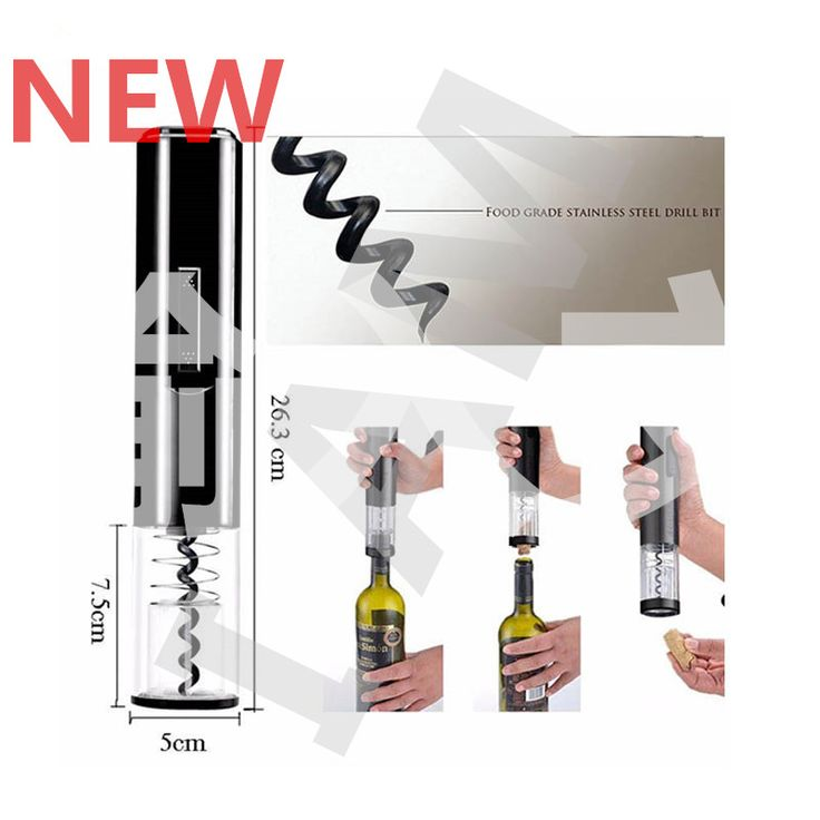 New Automatic Wine Opener Practical Electric Cordless Red Wine Corkscrew Bottle Opener Foil Cutter