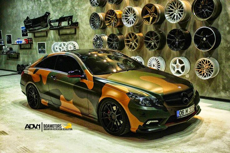 Mercedes benz w207 e class coupe on adv5 2mv2 wheels by for Mercedes benz w207