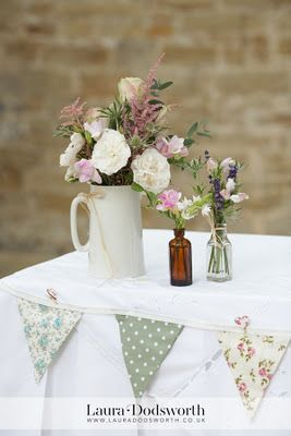 Lorna & Alex's tea party wedding; 100% chintz! | Vintage Flair – Vintage Tableware Hire & Styling