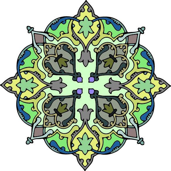12-islamic Persian Pattern